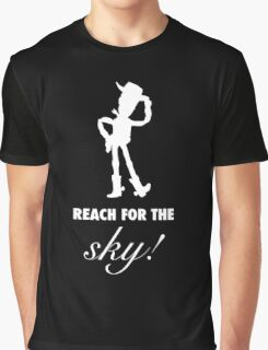 Toy Story Woody Reach For The Sky Graphic T-Shirt