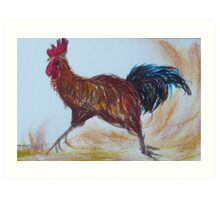 This Chook means Business. Art Print