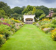 Arley Hall - Double Herbaceous Border by Joe Wainwright