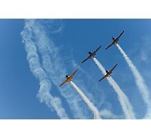 T-6 Texans - Southern Knights Photographic Print