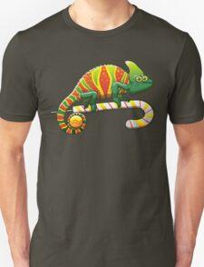 Christmas Chameleon Unisex T-Shirt