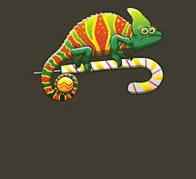Christmas Chameleon Womens Fitted T-Shirt