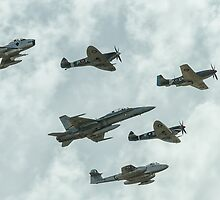RAAF Heritage Flight by mattsavage