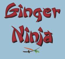 Ginger Ninja! Kids Tee
