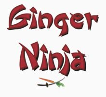 Ginger Ninja! Kids Tee