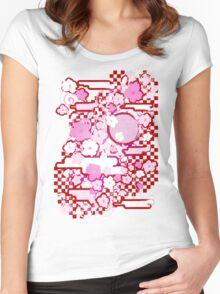 YOZAKURA Women's Fitted Scoop T-Shirt