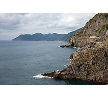 Ligurian Seascape Photographic Print
