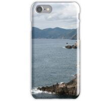 Ligurian Seascape iPhone Case/Skin