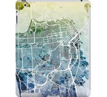 San Francisco City Street Map iPad Case/Skin