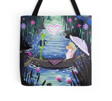 Kermit and Miss Piggy Romantic Cruise Tote Bag
