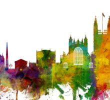Bath England Skyline Cityscape Sticker