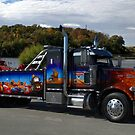 "Peterbuilt Big Rig Tow Truck ""Cars"" Tribute Truck by TeeMack"