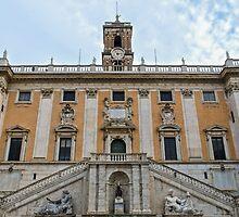 Rome - Campidoglio  by Andrea Mazzocchetti