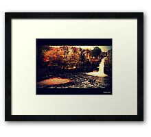 High Force Waterfall Framed Print
