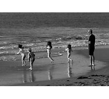 Wave Dancing Photographic Print