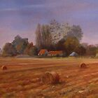 Autumn on the Marsh Kent by Beatrice Cloake