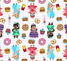Cute Princesses and Junk Food by Chantal Moosher