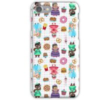 Cute Princesses and Junk Food iPhone Case/Skin