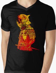 Death Moon Mens V-Neck T-Shirt