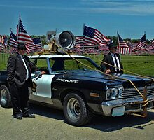 "1974 Dodge Monaco  ""The Blues Brothers Rythm and Blues Band"" by TeeMack"