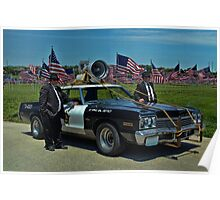 """1974 Dodge Monaco  """"The Blues Brothers Rythm and Blues Band"""" Poster"""