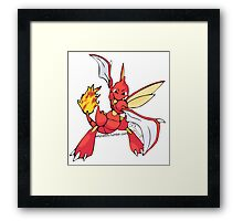 Charther Framed Print