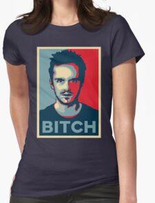 Pinkman, Bitch! Womens Fitted T-Shirt