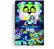 DJ KK Animal Crossing Canvas Print