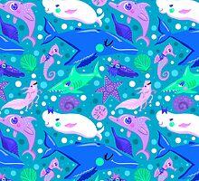 Undersea Friends by Chantal Moosher