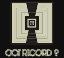 Got Record decoration Clothing & Stickers by goodmusic