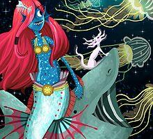 Deep Sea Mermaid Adventures by Chantal Moosher