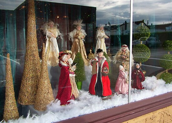 Christmas Window by AnnDixon