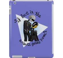 Papa and Son- Daft Punk iPad Case/Skin