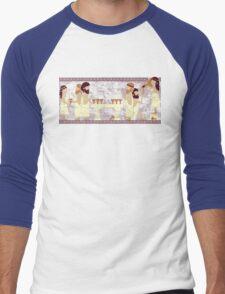 Toga Party Men's Baseball ¾ T-Shirt