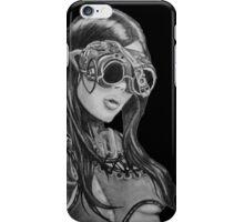 Steam Punk Woman iPhone Case/Skin