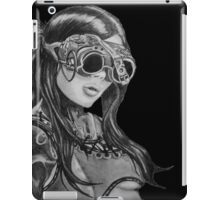 Steam Punk Woman iPad Case/Skin