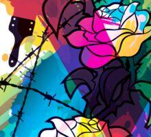 Colored_Rose Sticker