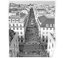 rua augusta III Poster