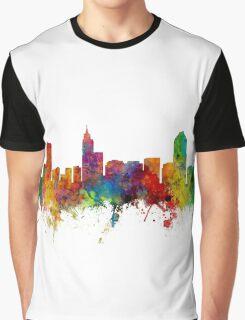Raleigh North Carolina Skyline Graphic T-Shirt