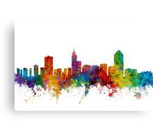Raleigh North Carolina Skyline Canvas Print
