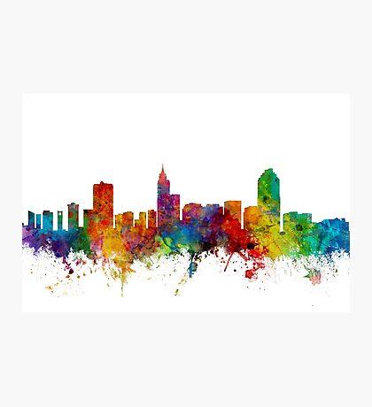 Raleigh North Carolina Skyline Photographic Print