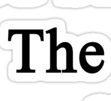 God Save The Journalists Sticker