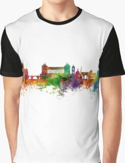 Rome Italy Skyline Graphic T-Shirt
