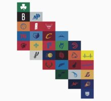 NBA Teams Logos  by ksanwal