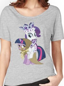 Princess Rarity and Twilight the Clever Women's Relaxed Fit T-Shirt