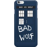 Tardis - In Your Pocket (BAD WOLF EDITION) iPhone Case/Skin