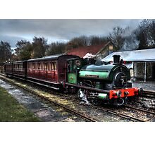 Tanfield Railway: Sir Cecil A Cochrane Photographic Print