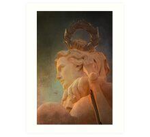 Anjo Génio. Angel Genius. Triumph Arch. Art Print