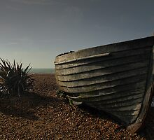 Beached Boat by Graham McAndrew