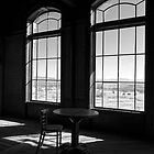 Table and Chair and The Windows by Lucinda Walter
